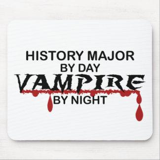 History Major Vampire by Night Mouse Pad