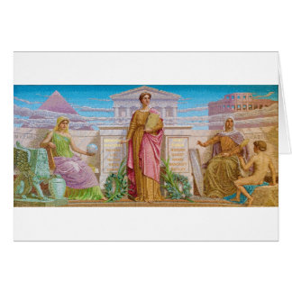 History Mosaic by Frederick Dielman Card