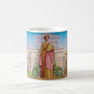 History Mosaic by Frederick Dielman Coffee Mug