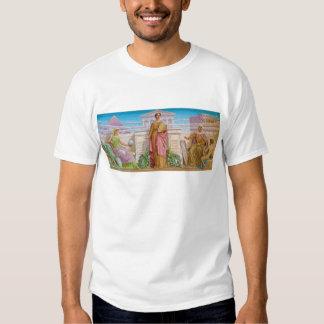 History Mosaic by Frederick Dielman Shirt
