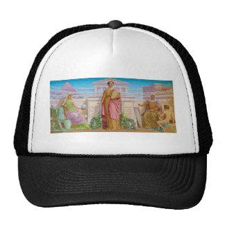 History Mosaic by Frederick Dielman Trucker Hat