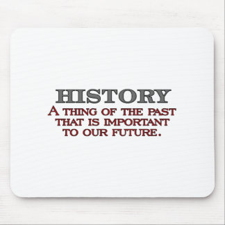 History Mouse Pad