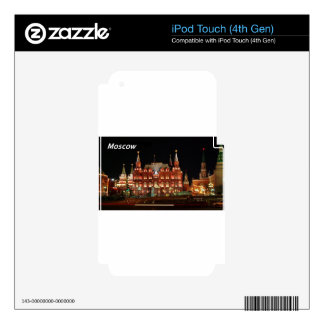 history-museum-kremlin-night-view-wide-full--- JPG Decal For iPod Touch 4G