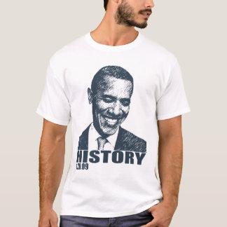 HISTORY - Obama Inauguration 1/20/09 T-Shirt