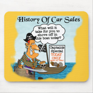 History of Car Sales2 Mouse Pad