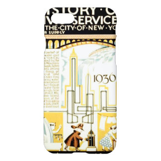 History of Civic Services New York WPA iPhone 7 Case