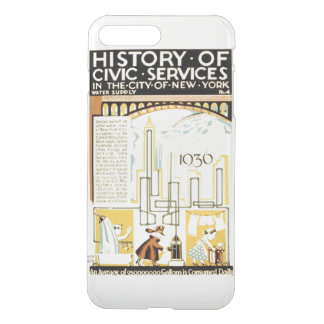 History of Civic Services New York WPA iPhone 7 Plus Case