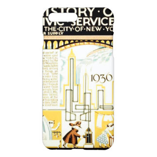 History of Civic Services New York WPA iPhone 8 Plus/7 Plus Case