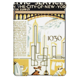 History of Civic Services New York WPA Poster Case For iPad Air