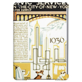 History of Civic Services New York WPA Poster Cover For iPad Air