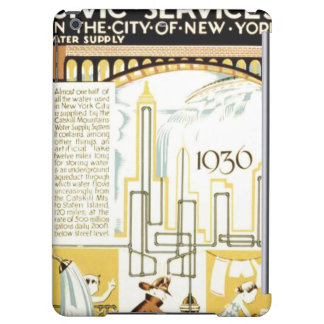 History of Civic Services New York WPA Poster iPad Air Cases