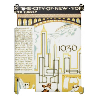 History of Civic Services New York WPA Poster iPad Case