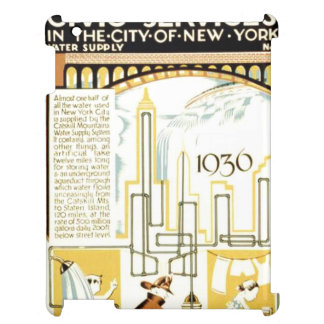 History of Civic Services New York WPA Poster iPad Cases
