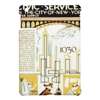 History of Civic Services New York WPA Poster iPad Mini Case