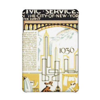 History of Civic Services New York WPA Poster iPad Mini Cases