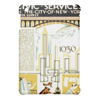 History of Civic Services New York WPA Poster iPad Mini Covers
