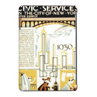 History of Civic Services New York WPA Poster iPad Mini Retina Covers