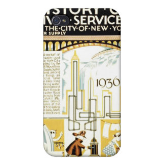 History of Civic Services New York WPA Poster iPhone 4/4S Case
