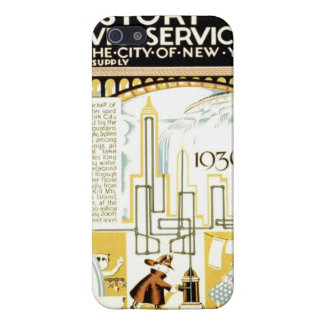History of Civic Services New York WPA Poster iPhone SE/5/5s Cover