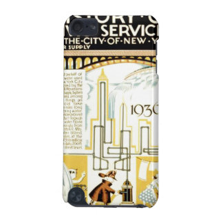 History of Civic Services New York WPA Poster iPod Touch 5G Case