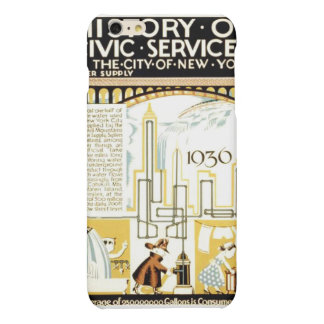 History of Civic Services New York WPA Poster Matte iPhone 6 Plus Case