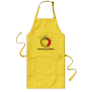 History Of Earth (Geological Time) Long Apron
