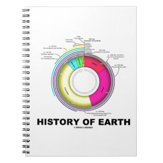 History Of Earth (Geological Time) Notebook