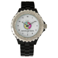 History Of Earth (Geological Time) Wrist Watch