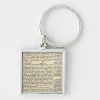 History of Greece Chronology Keychain