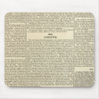 History of Greece Chronology Mouse Pad
