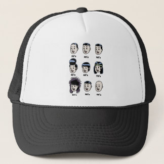 History of Mens Hair Trucker Hat