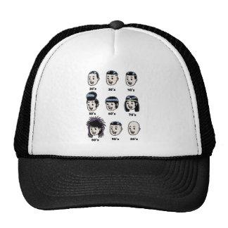 History of Mens Hair Trucker Hat