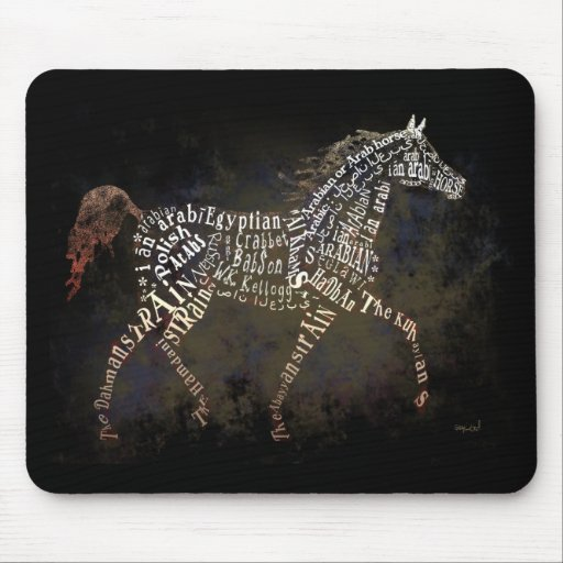 History of the Arabian Horse Gifts & i-Phone Cases Mouse Pad