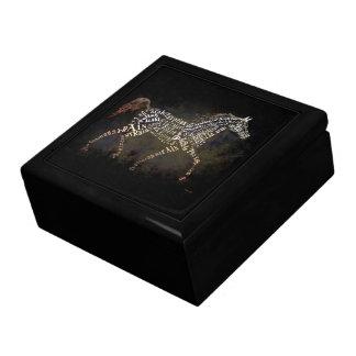History of the Arabian Horse Jewelry Box