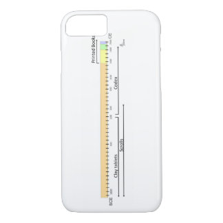 History of the Book Timeline iPhone 7 Case