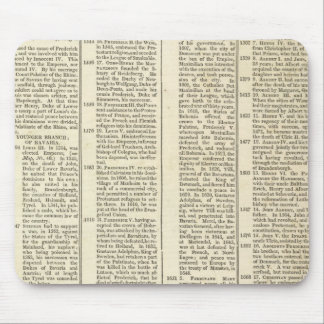 History of the Electoral Houses of Germany Mousepad
