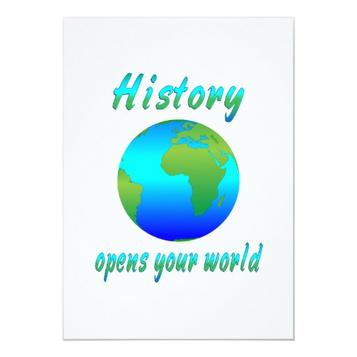 History Opens Worlds Announcement