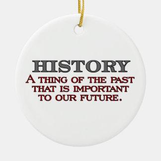 History Ornaments