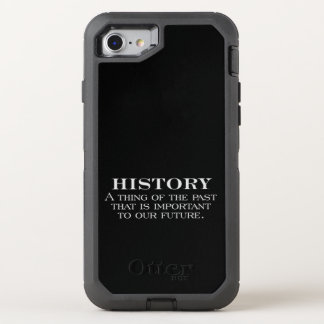 History OtterBox Defender iPhone 7 Case
