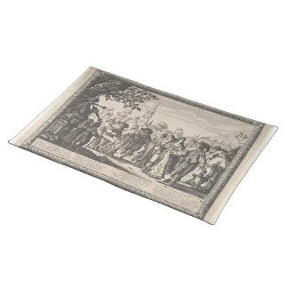 History Placemats - Renaissance Dance Placemat