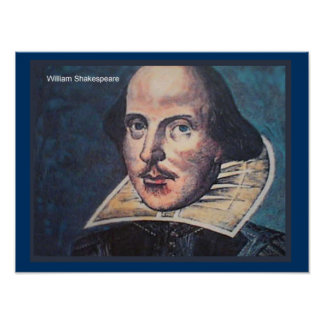 History Portrait of William Shakespeare Print