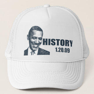 HISTORY - President Obama Inauguration Trucker Hat