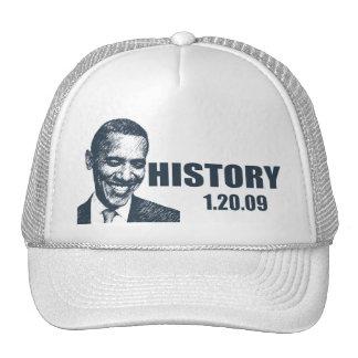 HISTORY - President Obama Inauguration Trucker Hat
