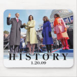 HISTORY: President Obama Swearing In Ceremony Mouse Mat