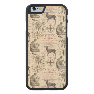 History - Quest for Knowledge Carved® Maple iPhone 6 Slim Case