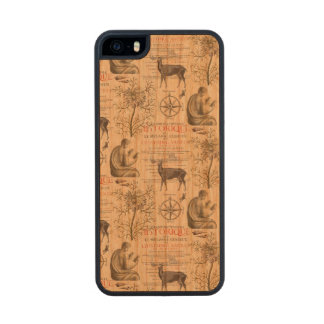 History - Quest for Knowledge Wood Phone Case For iPhone SE/5/5s