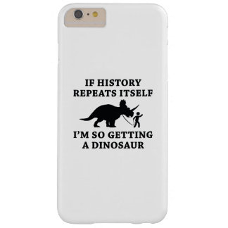 History Repeats Barely There iPhone 6 Plus Case
