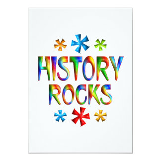 HISTORY ROCKS CARD