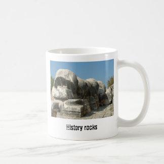 History rocks coffee mug