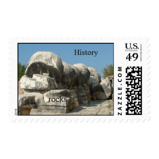 History rocks stamps
